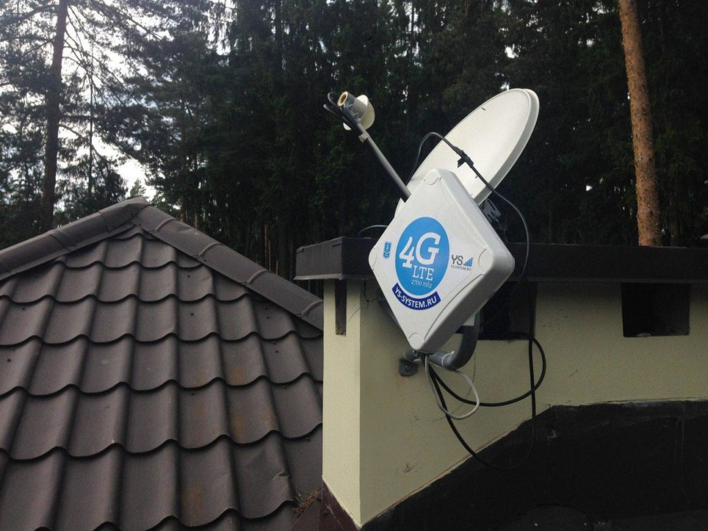 Усиление интернет сигнала на даче и в деревне